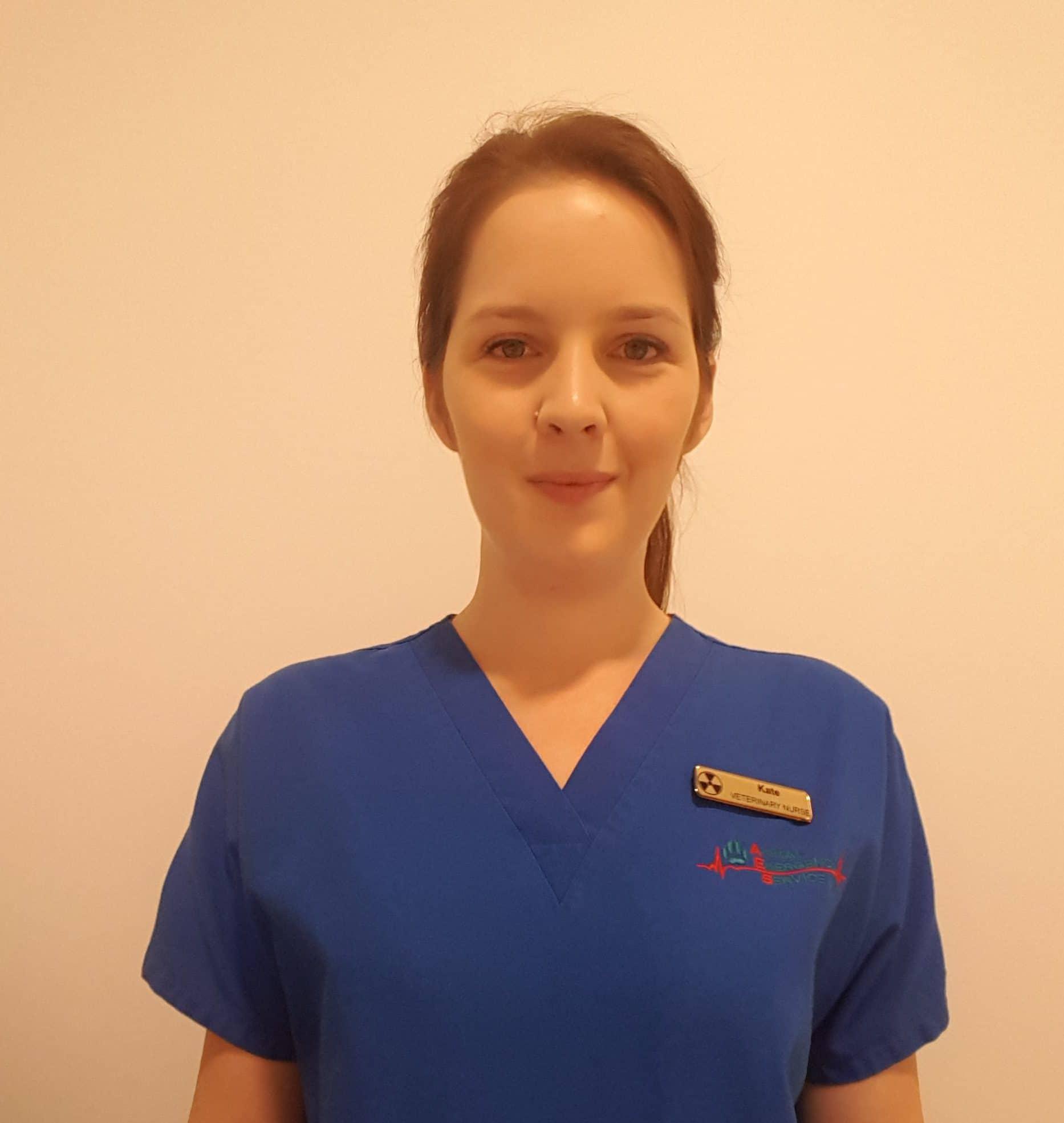 Animal Emergency Service Nurse, Kate Wesche