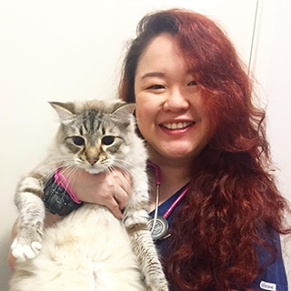 Dr Oriana Leong, Animal Emergency Service Carrara